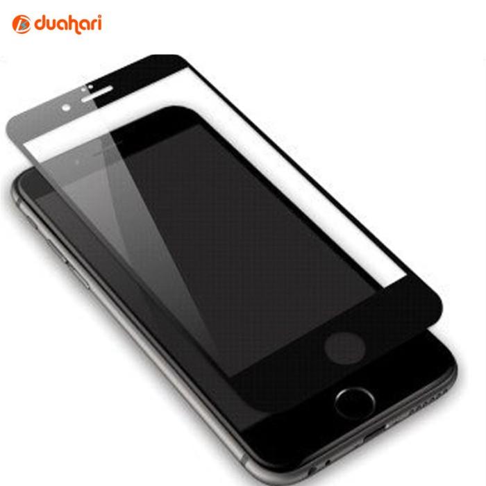 newest ba0b4 66f9e Jual Tempered Glass iPhone 6/6s Full Cover Screen Protector iPhone 6 HITAM  - Jakarta Barat - Dua Hari | Tokopedia