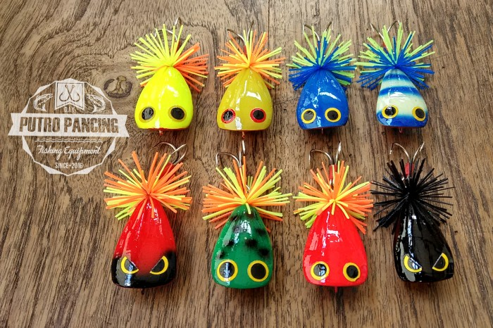 harga Lure jump frog handmade cokoten (tora) Tokopedia.com