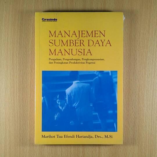 harga Buku manajemen sumber daya manusia - marihot tua efendi Tokopedia.com