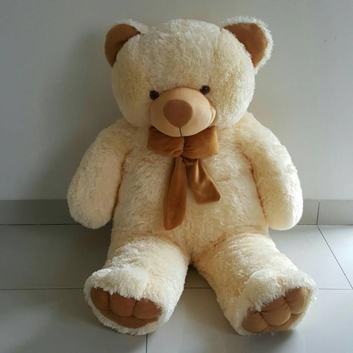 Boneka Beruang Teddy Bear Cream Besar 1 Meter Daftar Update Harga a97959a529