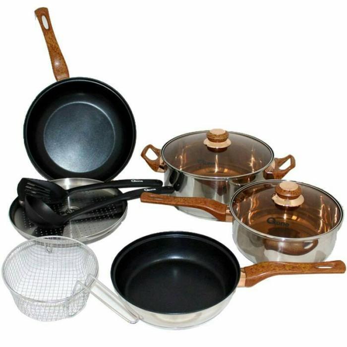 Oxone panci set / basic cookware set 4+2 pcs ox-911