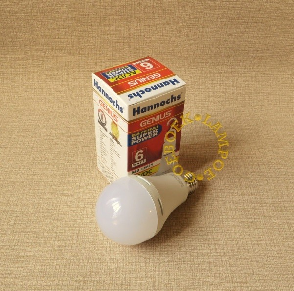 Hannochs Lampu Emergency Led Genius 8 Watt Putih New Best Buy Source · Emergency LED Bulb