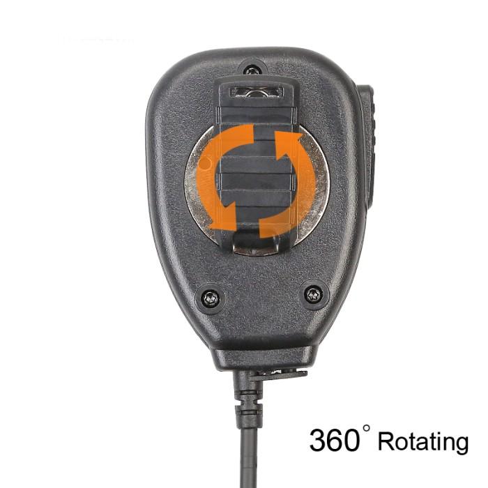 Baofeng Speaker Microphone for Baofeng UV-5R Series UV-3R+ - Hitam