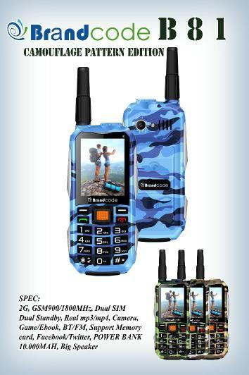 harga Brandcode b81 army 10000mah hp & powerbank - garansi resmi 1 th Tokopedia.com