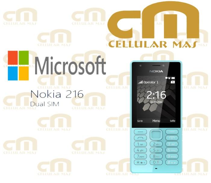 harga Nokia 216 dual sim garansi resmi Tokopedia.com