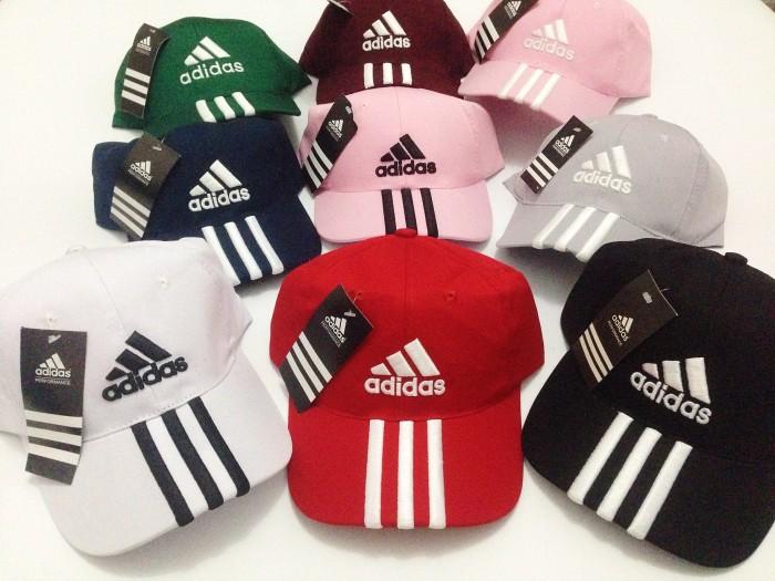 Jual Topi Adidas Bordir   Baseball Cap Adidas Unisex (Pria dan ... ba9aebb191
