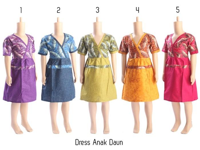 harga Baju anak lengan pendek dress anak grosir pakaian batik anak murah Tokopedia.com