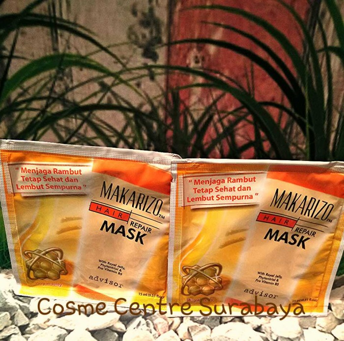 Jual Makarizo Hair Repair Mask Sachet Termurah Kota Surabaya Pusat Kecantikan Sby Tokopedia