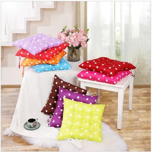 Foto Produk Bantal Empuk Alas Kursi / Sofa Polkadot Multi Fungsi dari Diaz Shope #