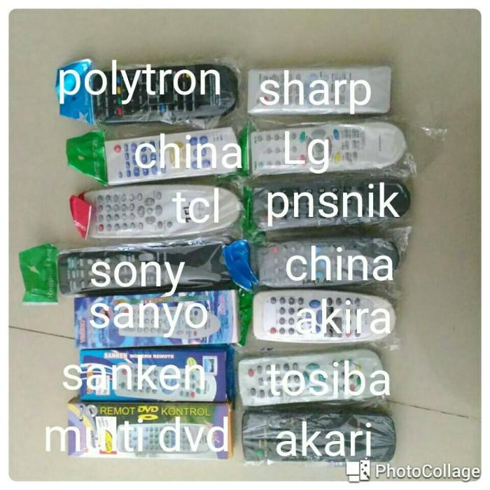 remot remote polytron sharp china LG panasonic tcl sony sanyo akira