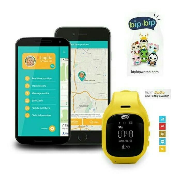 BipBip Watch V.1 Smartwatch Family's Guardian .