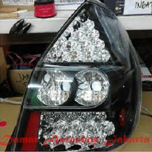 harga Stoplamp honda jazz gd3 2002 - 2008 double led black jdm eagle eyes Tokopedia.com