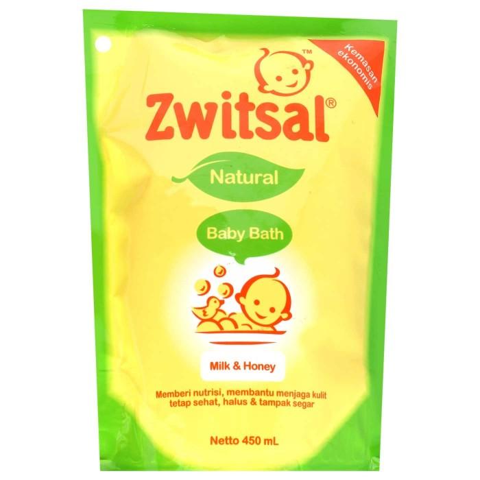 harga Zwitsal baby bath milk & honey 450 ml sabun bayi Tokopedia.com