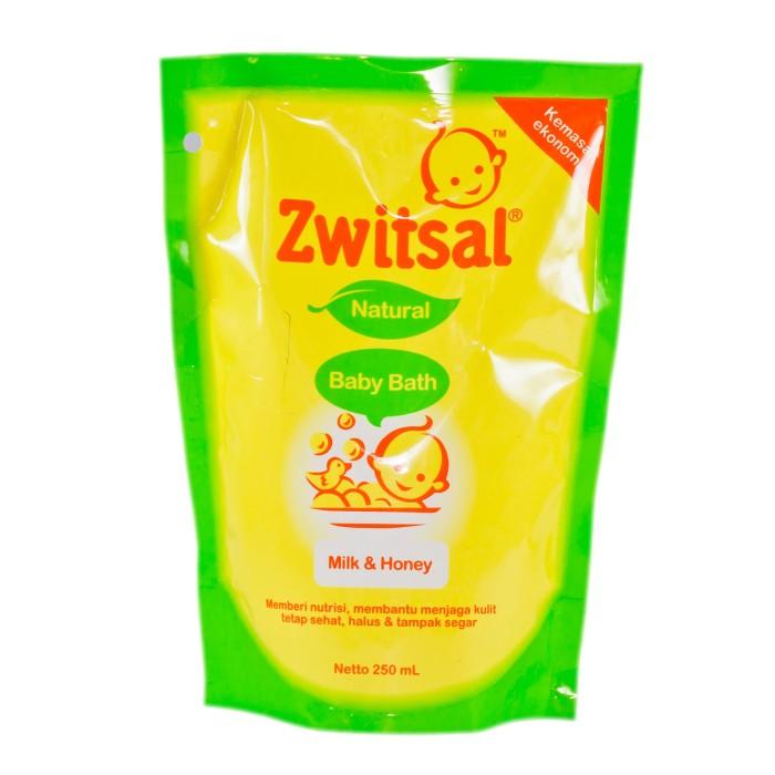 harga Zwitsal baby bath milk & honey 250 ml sabun bayi Tokopedia.com