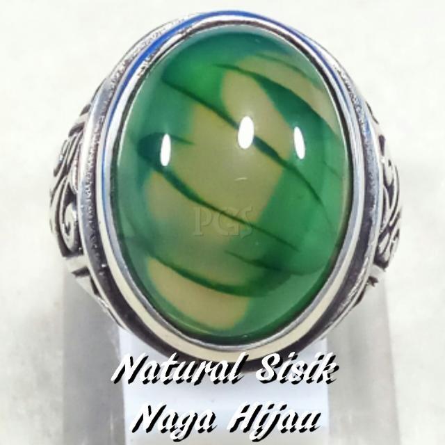 harga Cincin batu akik natural lumut sisik naga hijau mempesona grade aaa Tokopedia.com