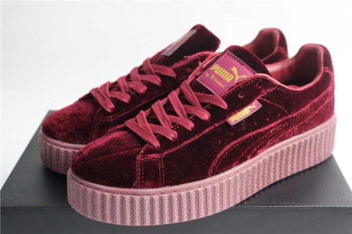 new product 45a41 80c5b Jual Sepatu Puma Fenty Rihanna Creeper Velvet Maroon - Kota Sukabumi -  Contola Shop | Tokopedia