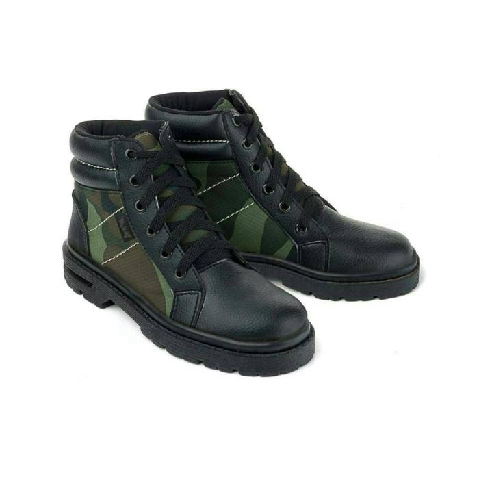 harga Sepatu boot anak laki-laki army blackkelly original distro - lds 129 Tokopedia.com