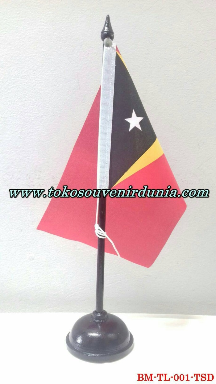 Jual Bendera Meja Negara Timor Leste Buat Pajangan Kantor Dan Rumah Kota Bandung TokoSouvenirDunia