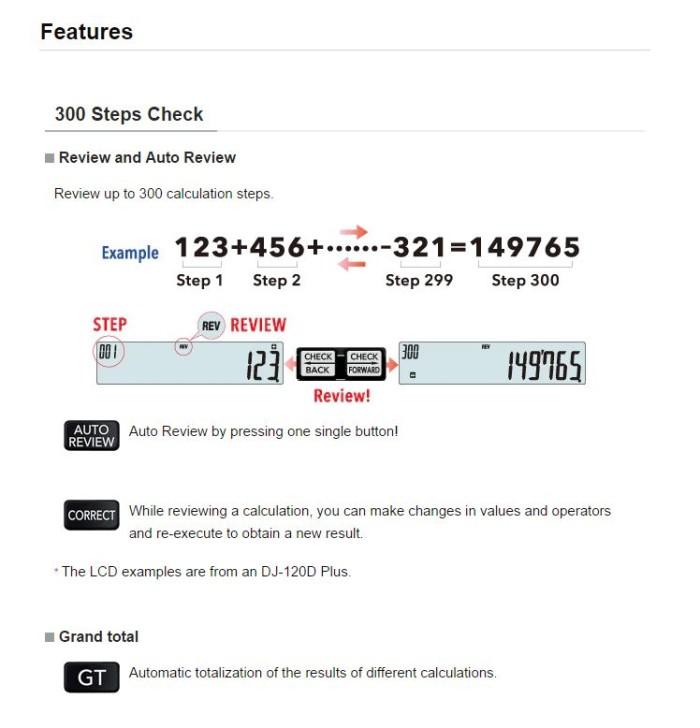 ... Casio Kalkulator MJ 120D PLUS Semi Desktop Calculator 12 Digits