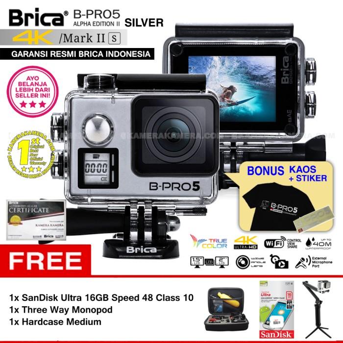 harga Brica b-pro 5 alpha edition mark iis (ae2s) silver - paket lengkap 6 Tokopedia.com