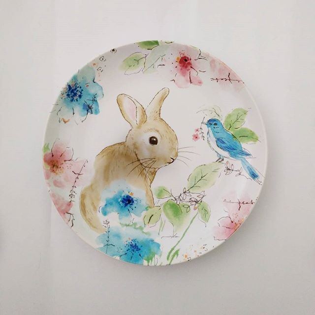 harga Piring makan sango motif pastel rabbit Tokopedia.com