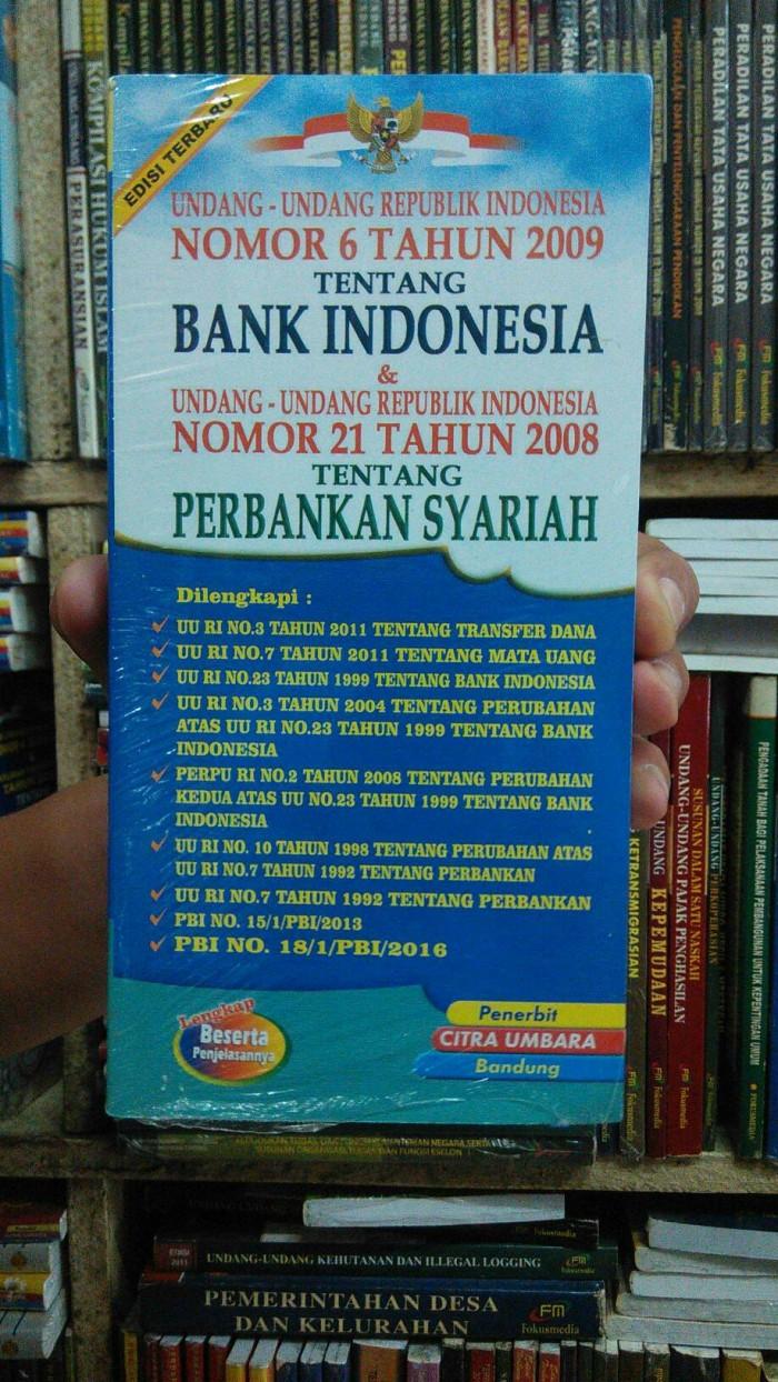 harga Undang-undang no 6 ttg bank indonesia dsn perbankan syariah Tokopedia.com