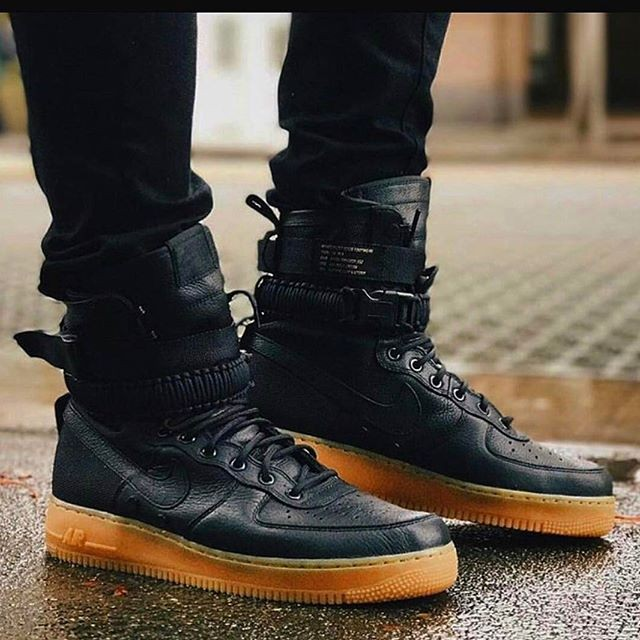 new product 0daa9 677c5 Nike air force 1 special field black gum . harga ...