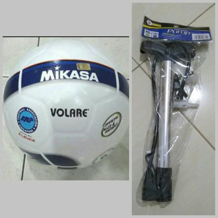 harga Bola sepak mikasa volare + pompa tangan multifungsi Tokopedia.com