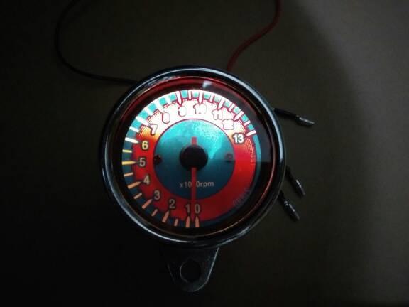 harga Tachometer indikator rpm takometer meter aksesoris motor sport Tokopedia.com