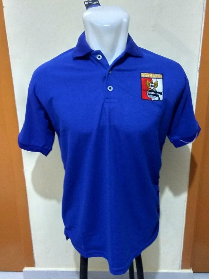 harga Polo shirt perbakin - kaos kerah perbakin biru - bahan lacoste Tokopedia.com