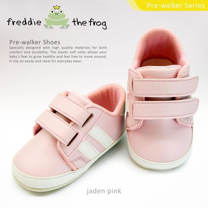 harga Sepatu bayi - baby shoes   freddie the frog   jaden pink - 3-6 bulan Tokopedia.com