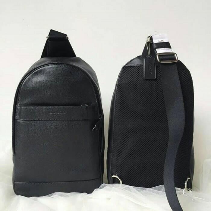 Tas Selempang Body Bag Pria Coach Charles Original 100% Authentic bc77a4b7f3