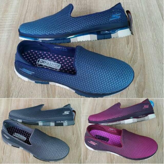 Jual sepatu skechers goflex slip on women cek harga di PriceArea.com 34bd124e0f