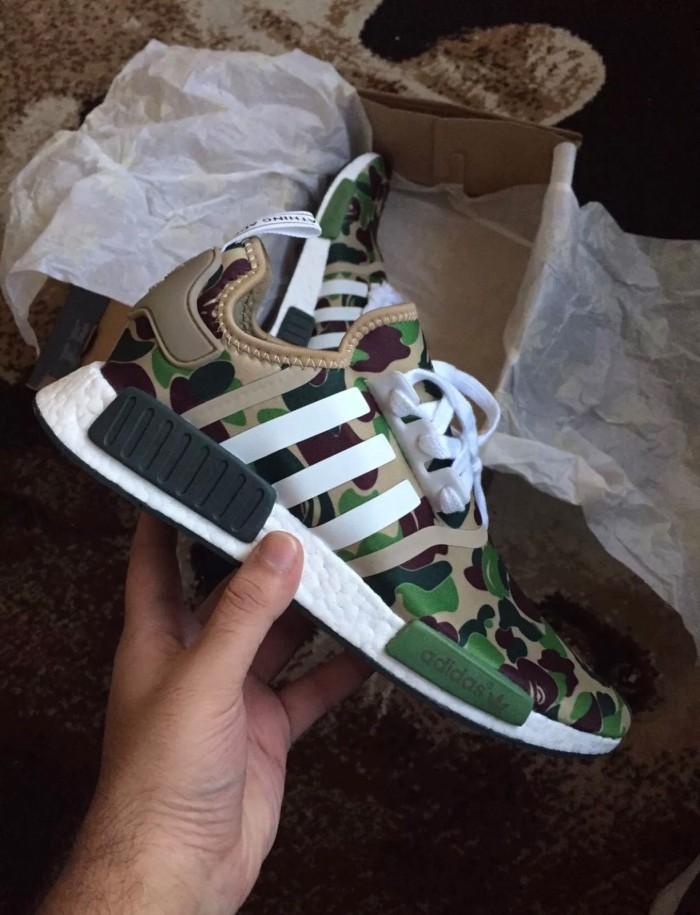 finest selection 5546e a5c6d Jual Sepatu Adidas NMd R1 X BAPE Green Camo - Kota Sukabumi - Contola Shop  | Tokopedia