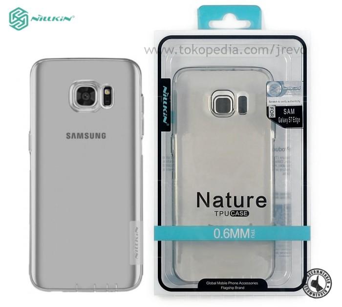 buy online e921f 65784 Jual Softcase Nillkin Nature TPU Case Samsung Galaxy S7 Edge - Jakarta  Barat - jagadrayaevo   Tokopedia