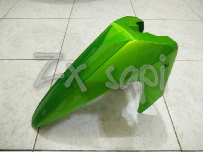 harga Spakbor depan kawasaki zx 130 warna hijau Tokopedia.com