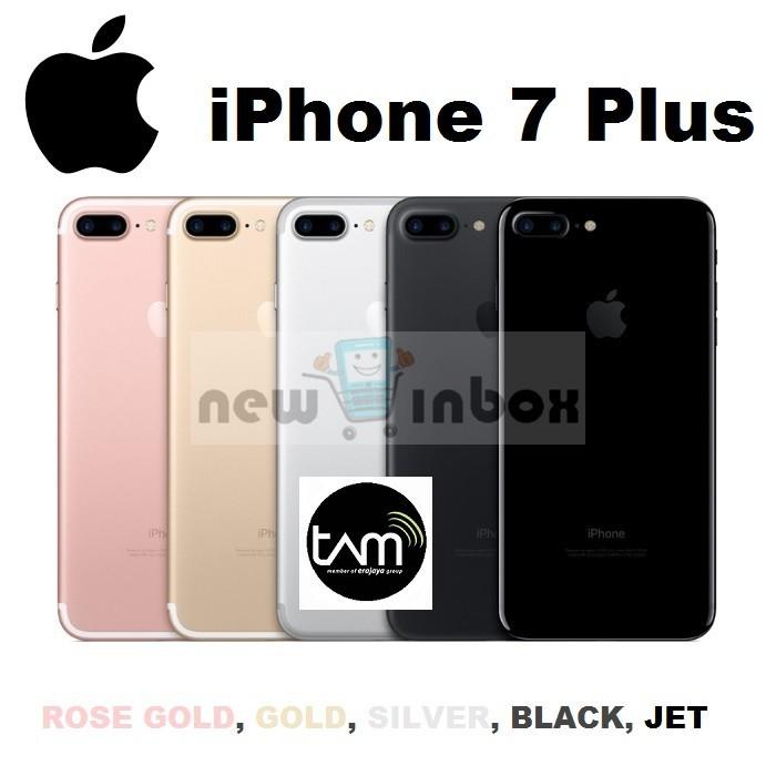 Jual APPLE IPHONE 7 PLUS 32GB - GARANSI RESMI TAM 1 TAHUN - NEW ... 125c6a9bf2
