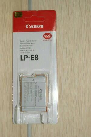 harga Baterai / battray kamera dslr canon lp-e8 550d/600d/650d/700d Tokopedia.com
