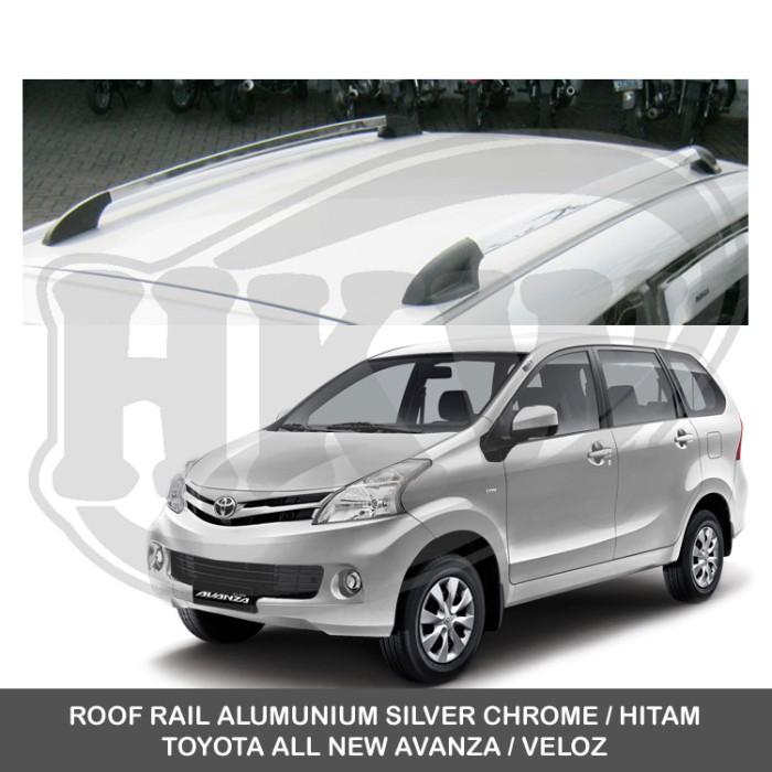 harga Roof rail alumunium silver toyota all new avanza / veloz Tokopedia.com
