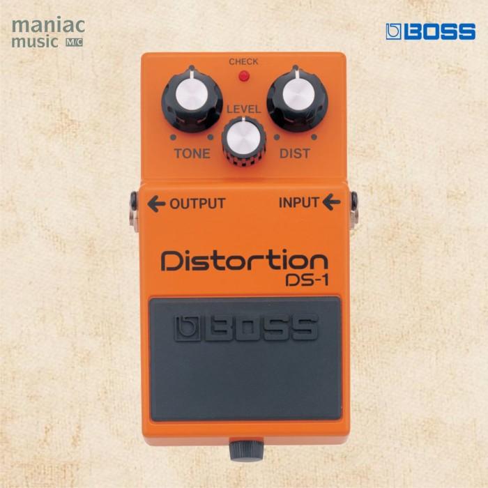 harga Boss ds-1 (distorsi klasik heavy booster efek stompbox gitar) Tokopedia.com