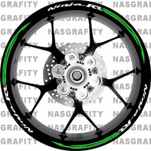 harga Sticker cutting velg racing ninja rr Tokopedia.com