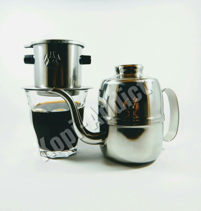 harga Vietnam drip ma + kettle 350 ml + gelas duralex i paket hemat Tokopedia.com