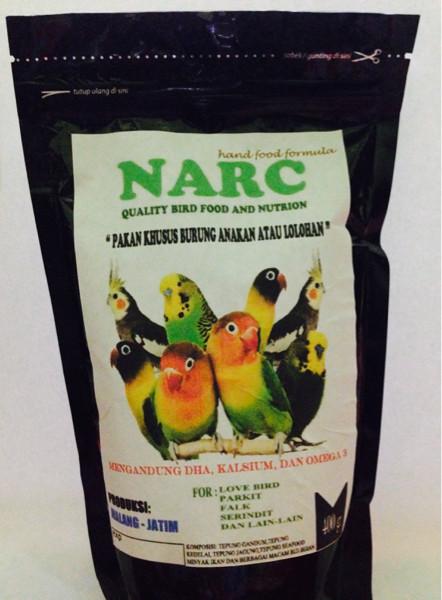 Jual Narc Pakan Burung Lovebird Lolohan Kota Malang Narc Ornament Tokopedia
