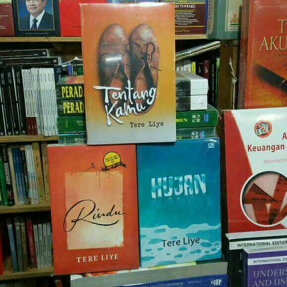 Paket 3 novel tere liye _ tentang kamu rindu dan hujan