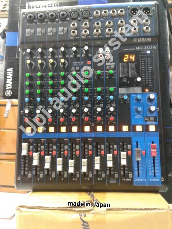 harga Mixer yamaha mg12xu audio promo (bonus jack xlr canon sentronik 2set). Tokopedia.com