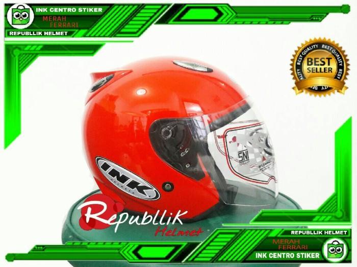 harga Helm best 1 model ink centro jet solid bkn kyt/bogo/agv/nhk/mds Tokopedia.com