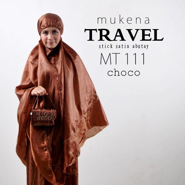 Mukena travel abutay/gratis ciput+tas
