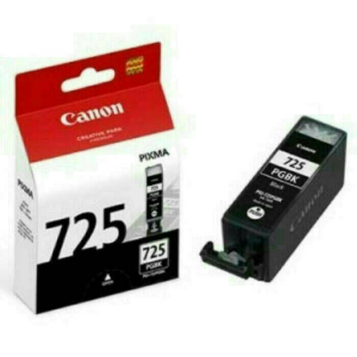 harga Tinta canon 725 pgi black original Tokopedia.com