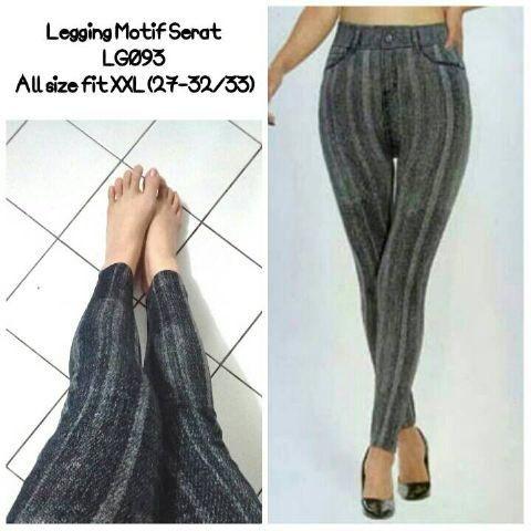 Jual Legging Kaos Stretch Melar Motif Salur Abstrak Kab Bandung Akmashoper Tokopedia