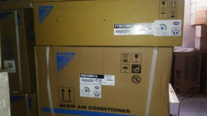AC DAIKIN FTNE25MV14 1PK standar komplit pasang